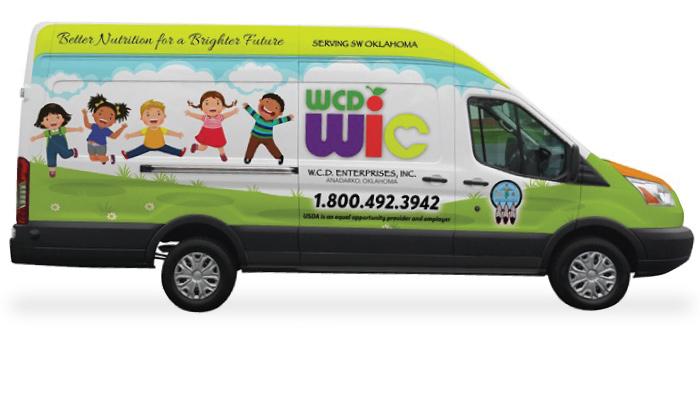 WCD-WIC Program mobile van